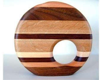 Decorative Wood Bud Vase, 1. Bud Vase Without Accent ()