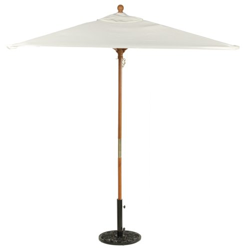 Oxford Garden Sunbrella 6-Foot Square Market Umbrella, (6 Foot Square Patio Umbrella)