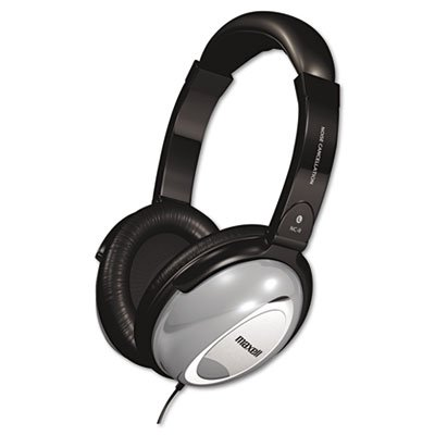 Ideal for home use or travel. - MAXELL CORP. OF AMERICA HP/NC-II Noise Canceling ()