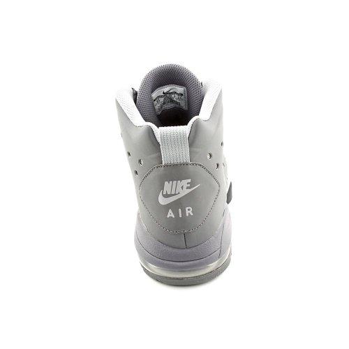 Nike Air Max Barkley Basketball Schuhe-Dunkelgrau Dunkelgrau / Dunkelgrau-Weiß-Wolf Grau