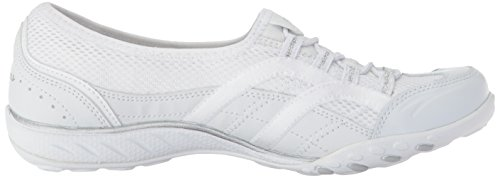 Well Easy Skechers Versed para Breathe Tenis Blanco Mujer E1Ewq75np