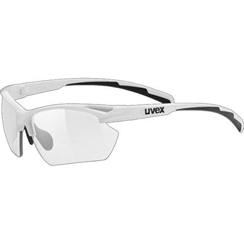 Uvex Sportstyle 802 Small Variomatic Sunglasses White, One Size - - Sunglasses Photochromic Uvex