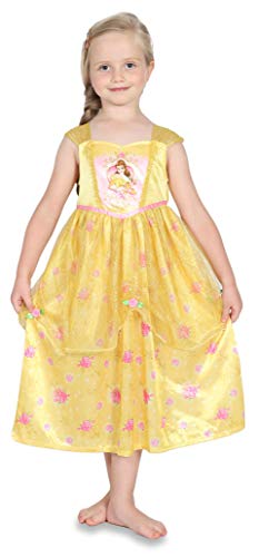 Disney Princess Belle Girls Fantasy Nightgown Beauty and