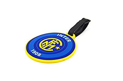 CellDesigns Set of 2 Soccer Team Football Club Luggage Tag Suitcase ID Tag with Adjustable Strap