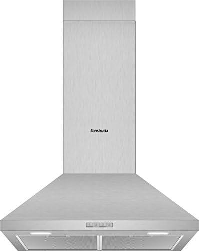 Constructa cd616650 Campana Pared Acero Inoxidable//60 cm/LED Iluminación: Amazon.es: Grandes electrodomésticos