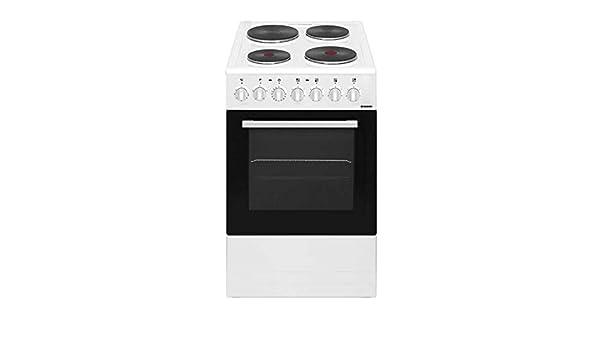 Hoover HT500FW - Cocina eléctrica con horno y 4 placas ...