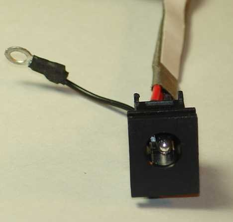 Genuine OEM AC DC Harness Power Jack Connector in Toshiba Satellite L35-S1054 L35-S2151 L35-S2161 L35-S2171 L35-S2174 L35-S2194 L35-S2206 L35-S2316 L35-S2366 PSL33U by Toshiba