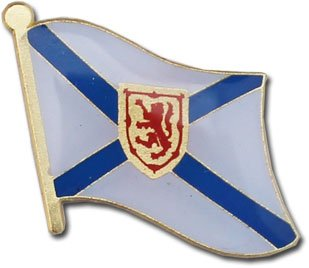 Nova Scotia Canadian Province Lapel Pin