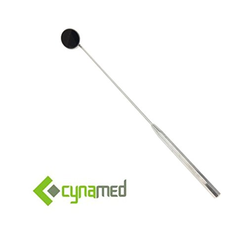 Henry Mirror - CYNAMED NEW LARYNGEAL BOILABLE HYGIENE DENTAL MIRRORS 20MM DIAMETER #3 WITH HANDLE