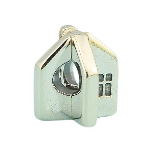 0e908c3b8 Ochoos House Bead Authentic 925 Sterling Silver Charms Jewelry Fit European  Style Original Troll Bracelet &