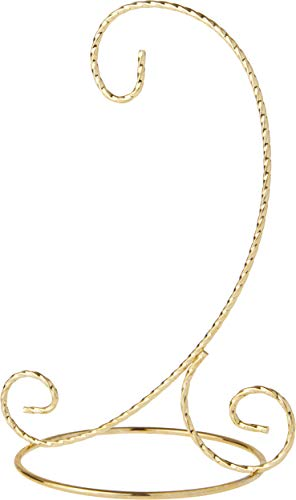 - Bard's Twisted Gold Ornament Stand - Small, 7.5