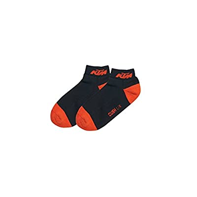 NEW KTM CASUAL ANKLE SOCKS 3 PACK MEN'S SHOE SIZE 7-10 MEDIUM / LARGE UPW157012 hot sale