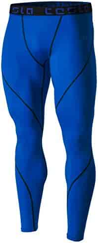 Tesla Men's Compression Pants Baselayer Cool Dry Sports Tights Leggings MUP19 / MUP09 / P16