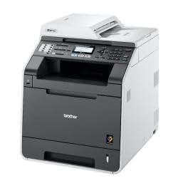 Brother DCP9055CDN - Impresora láser color de alta velocidad (con tarjeta de red e impresión a doble cara automática) Blanco/Gris