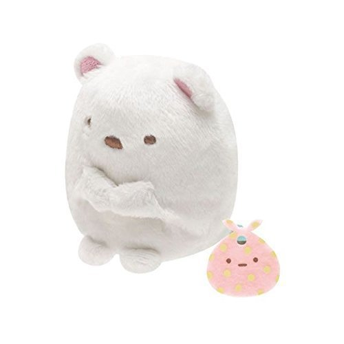 - San-x Sumikko Gurashi Plush 2'' Polar Bear w/ Furoshiki