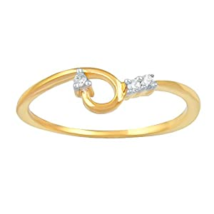 Giantti Daily Wear Women's 14KT Diamond Ring - IGL Certified ( 0.03 Ct, I1 Clarity, GH-Colour)