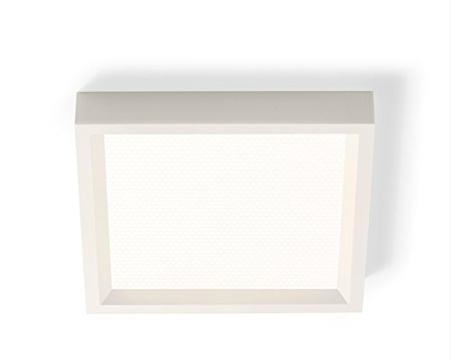 - Philips 303073 SlimSurface Square LED 3000K Surface Mount Downlight, 4