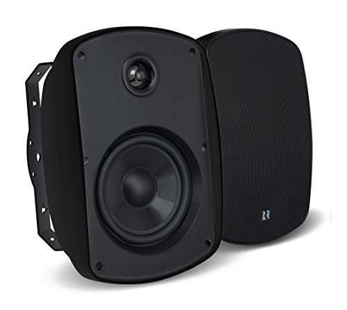Russound Acclaim 5 Series 100W 2-Way Indoor/Outdoor Speakers (Pair) Black 5b45 Black