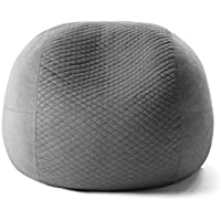 Tuft & Needle Pouch by The Better Bean Bag Chair | Crafted w/Proprietary CertiPUR-US Certified Adaptive Foam | Soft Quilted Removable Cover | Made in USA | 100-Day Trial | 3-Year Warranty (Stone)