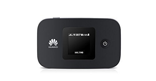 Huawei E5377s-32 150 Mbps 4G LTE & 43.2 Mpbs 3G Mobile WiFi Hotspot (4G LTE in Europe, Asia, Middle East, Africa & 3G globally) (Black) by Huawei
