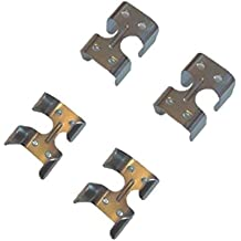 PRORIDER Hardware Lot of 10 Lead Rope ZINC Plated Light Duty Clamps 40378