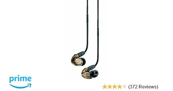 Amazon.com: Shure SE535-V Sound Isolating Earphones with Triple High ...