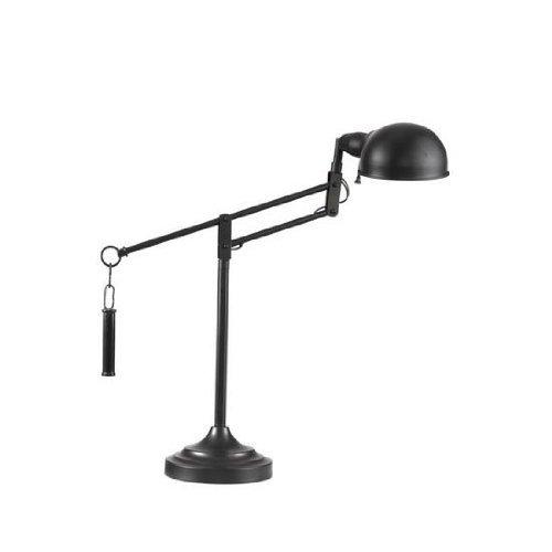 Bassett Mirror London Task Lamp, Black ()