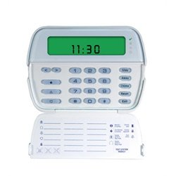 TYCO RFK5501ENG 64 zone picture icon LCD keypad with English function keys and built-in 433MHz wireless receiver. - Icon Lcd Keypad