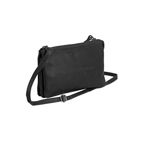 Pelle Borsa Tracolla Julia Chesterfield Nero In A wISAqFd