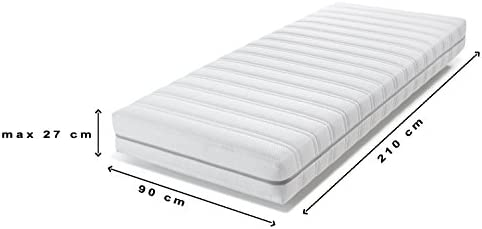 Carese luxe Flannel Stretch mattress protector 90 x 210 cm - 90 x 210 cm