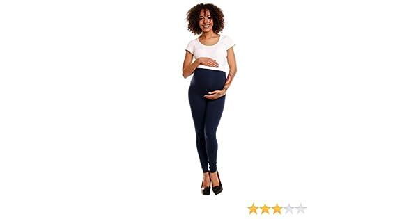 975p Para mujer premama leggings banda el/ástica para la barriga Happy Mama