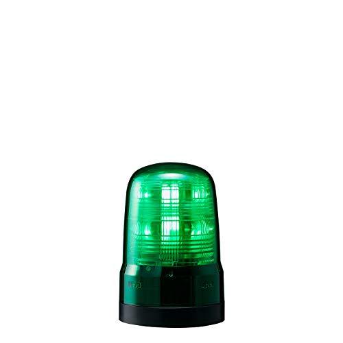 パトライト 回転灯 SF08-M1KTN-G Φ80 DC12~24V 発光パターン(22種) 緑色 2点穴式取付 プッシュイン端子台