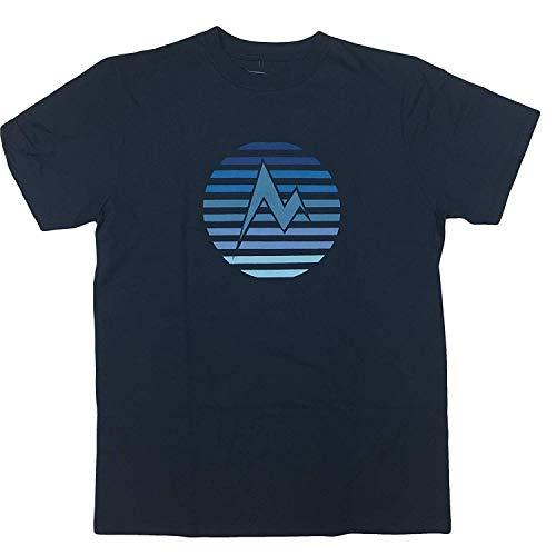 - Marmot Men's Short Sleeve Logo Tee T-Shirt (Navy, M)