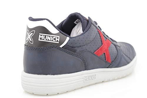 000 Adulto de Blanco Blanco Deporte Zapatillas 3110885 Munich Unisex 8wvSqq