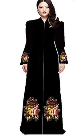 Digital Printed Abaya Casual Abaya For Women