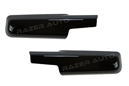 Amazon Com Razer Auto Glossy Black Towing Mirror With Turn Signal