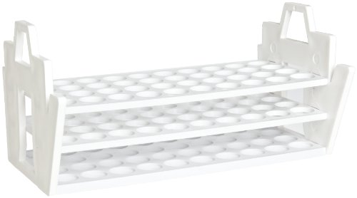 Bel-Art F18890-0020 Slant Rack for 16-20mm Tubes, 40 Places,
