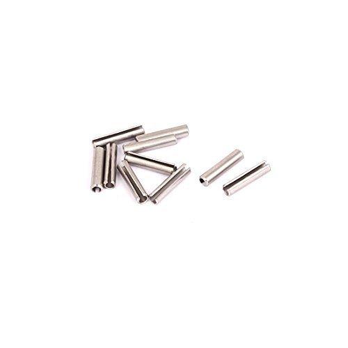 M2x10mm Edelstahl 304 Split Spring Roll Zylinderstifte 10Pcs, Modell:, Tools & Baumarkt