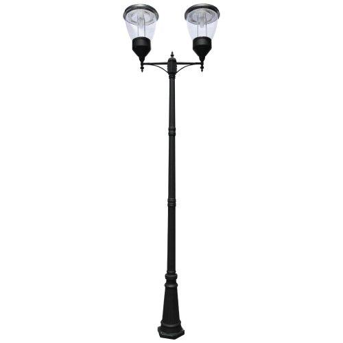 Balmoral Lamp (PO05 Solar 'Balmoral' Double Lamp Post Light)