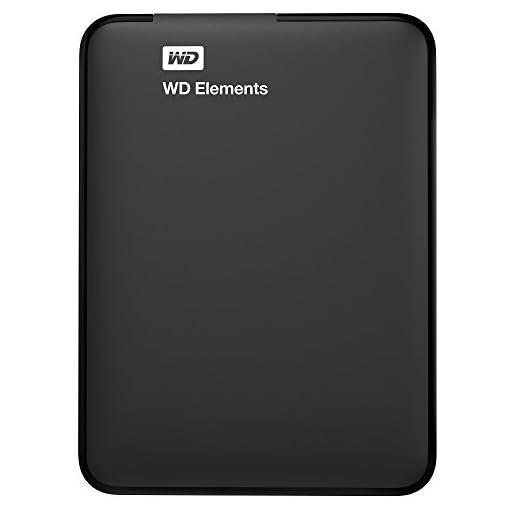 WD Elements Portable External Hard Drive - USB 3.0