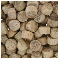 WIDGETCO 3/8' Oak Oval Wood Plugs