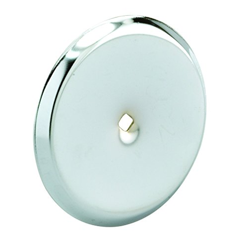 Chrome Knob Backplates - Prime-Line MP9202 Cabinet Knob Backplate, 2-13/16 in. Outside Diameter, Stamped Steel, Chrome Plated Finish, Pack of 5