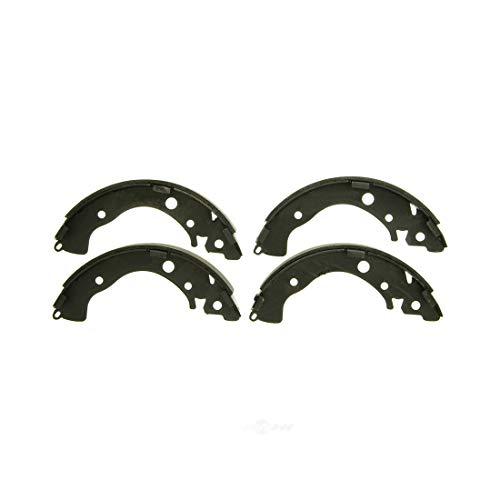 (AutoDN REAR 4PCS Drum Brake Shoe Set For HONDA CIVIC FIT INSIGHT 2010-2014)