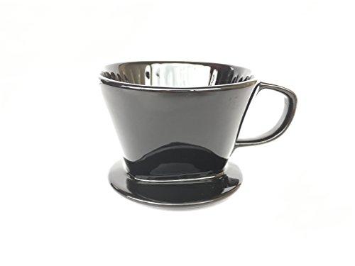 Doppio Ceramic Pour Over Coffee Dripper Size #2 (Ceramic, 2) by Doppio