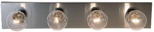 Royal Cove 558738  Vanity Lighting Strip, Brushed Nickel, 24 In. ()