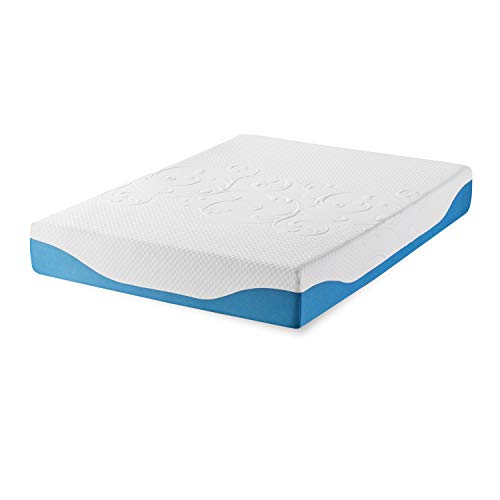 Synwell Sleep Cool and Firm Gel Infused Ergonomic Memory Foam Mattress, 10 Inch, Full, CertiPUR-US Certified