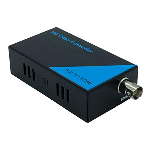 PWAY CSDI2H SD/HD 3G-SDI to HDMI 720P/1080P Adapter Video Converter SDI Transmission Up to 328ft/100m