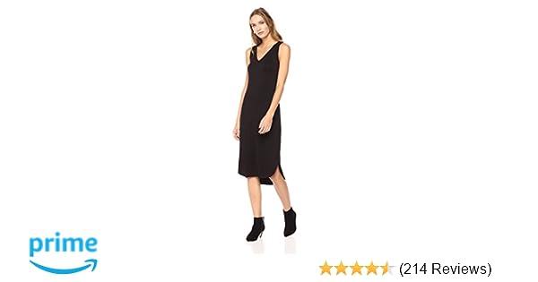 d33599ff861fb Amazon Brand - Daily Ritual Women's Jersey Sleeveless V-Neck Dress