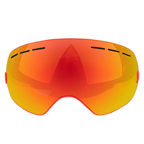 6bb0ec563d53 Road Cool Ski Goggles Sunglasses Mask Winter Men s Anti-Fog Snowmobile  Women s Outdoor Sports Skating Snowboard Cross-Country Riding UV Protection  (169cm)