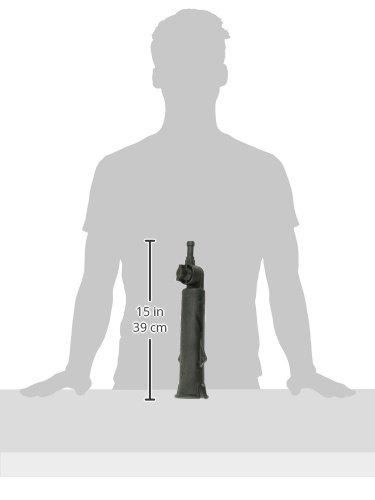 Ram Mount Tough Tube Fishing Rod Holder with 3-Inch Ratchet Spline Post Arm Black